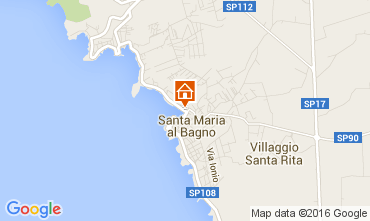 Mappa Santa Maria al Bagno Appartamento 69201