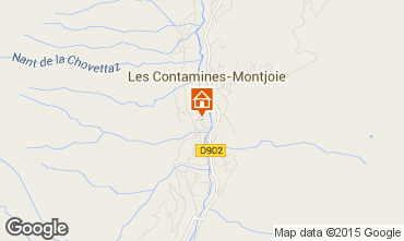 Mappa Les Contamines Montjoie Chalet 930