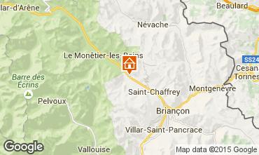 Mappa Serre Chevalier Appartamento 64615