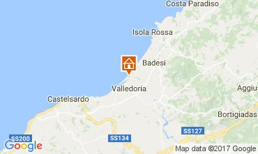 Mappa Badesi Appartamento 106067