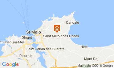 Mappa Saint Malo Casa 106998