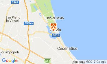 Mappa Cervia Appartamento 109534