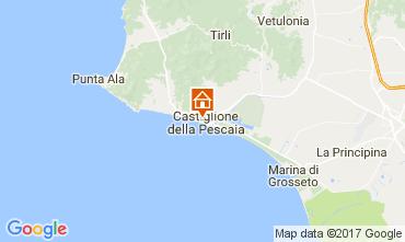 Mappa Castiglione della Pescaia Appartamento 80873