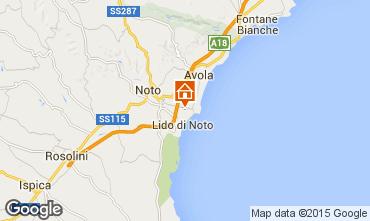 Mappa Noto Villa  82978