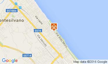 Mappa Montesilvano Marina Appartamento 89318