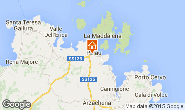 Mappa Palau Appartamento 94242