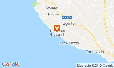 Mappa Ugento - Torre San Giovanni B&B 118712