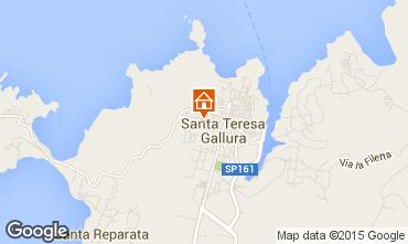 Mappa Santa Teresa di Gallura Appartamento 87777