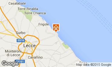 Mappa Lecce Appartamento 43917