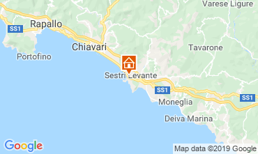 Mappa Sestri Levante Appartamento 117850