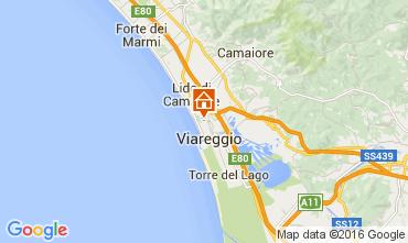 Mappa Viareggio Appartamento 104111