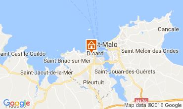 Mappa Dinard Appartamento 107051