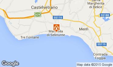 Mappa Castelvetrano Selinunte Appartamento 56599