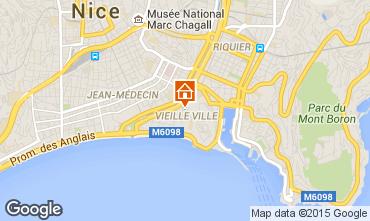 Mappa Nizza Appartamento 77587