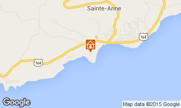 Mappa Sainte Anne (Guadalupa) Bungalow 8023