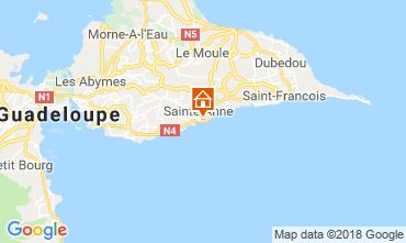 Mappa Sainte Anne (Guadalupa) Appartamento 116656