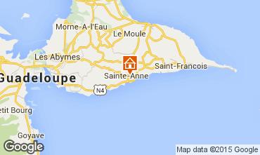 Mappa Sainte Anne (Guadalupa) Agriturismo 54345
