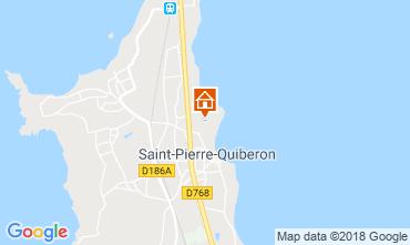 Mappa Saint Pierre Quiberon Casa 117230