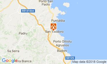 Mappa San Teodoro Casa 107576