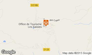 Mappa Les Saisies Monolocale 70264