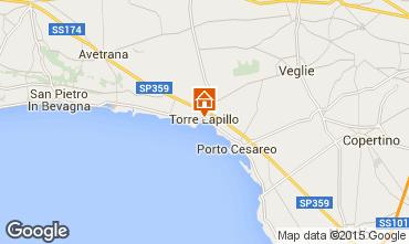 Mappa Porto Cesareo Casa 94214