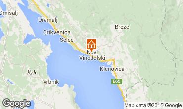 Mappa Novi Vinodolski Casa 76429