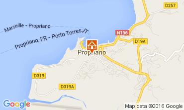 Mappa Propriano Appartamento 60845