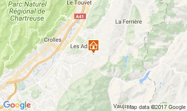 Mappa Les Sept Laux Appartamento 112719