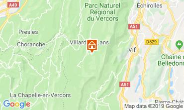 Mappa Villard de Lans - Corrençon en Vercors Monolocale 68518