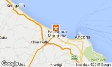 Mappa Falconara Marittima Appartamento 86033