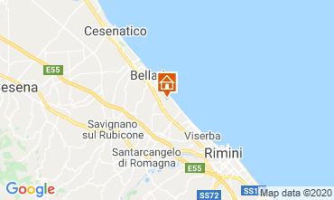 Mappa Bellaria Igea Marina Appartamento 109070