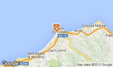 Mappa Capo d'Orlando Appartamento 77517
