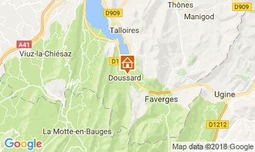 Mappa Annecy Appartamento 115180
