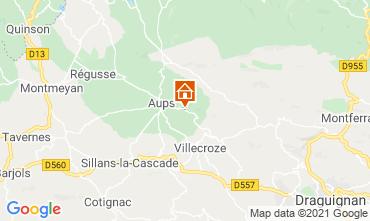 Mappa Cotignac Villa  95613