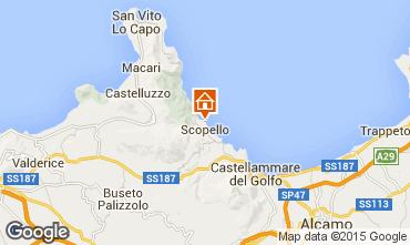 Mappa Scopello Villa  51889