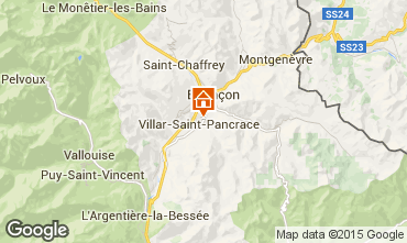 Mappa Serre Chevalier Chalet 66793