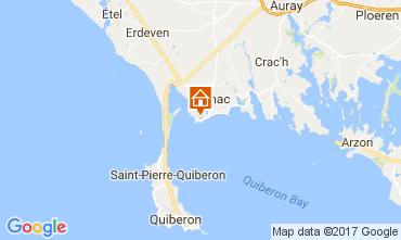 Mappa Carnac Villa  112126