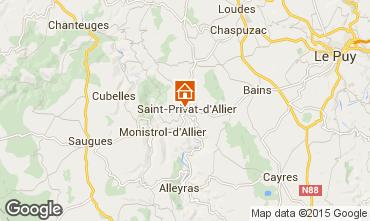 Mappa Le Puy en Velay Agriturismo 94493