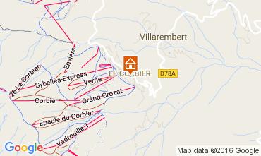 Mappa Le Corbier Appartamento 106400