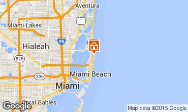 Mappa Miami Beach Monolocale 94128
