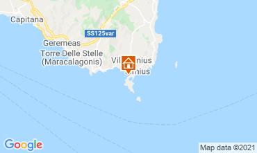 Mappa Villasimius Casa 114543