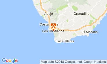 Mappa Los Cristianos Appartamento 113441