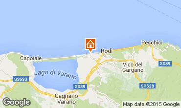 Mappa Rodi Garganico Appartamento 70966