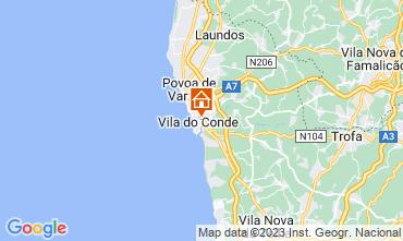 Mappa Vila do Conde Appartamento 75567