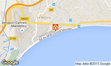 Mappa Cannes Appartamento 30867