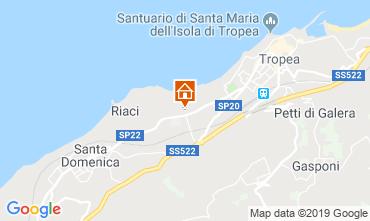 Mappa Tropea Appartamento 71718
