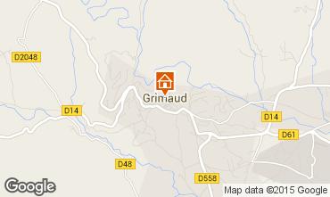 Mappa Grimaud Appartamento 95017