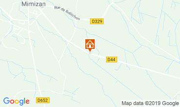 Mappa Mimizan Casa mobile 117852