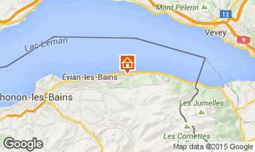 Mappa Evian les Bains Casa 98117