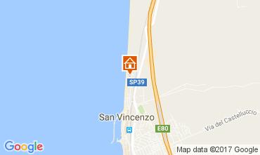 Mappa San Vincenzo Appartamento 108185